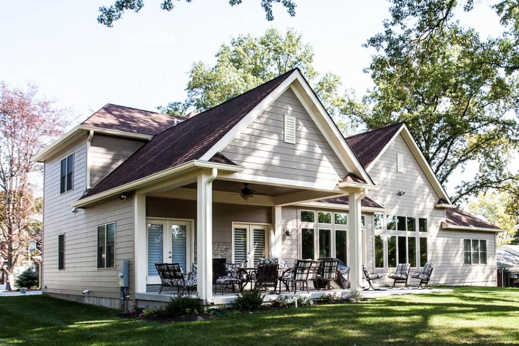 backyard entertaining hibbs homes