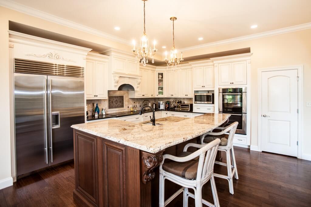 custom kitchen st louis homebuilder