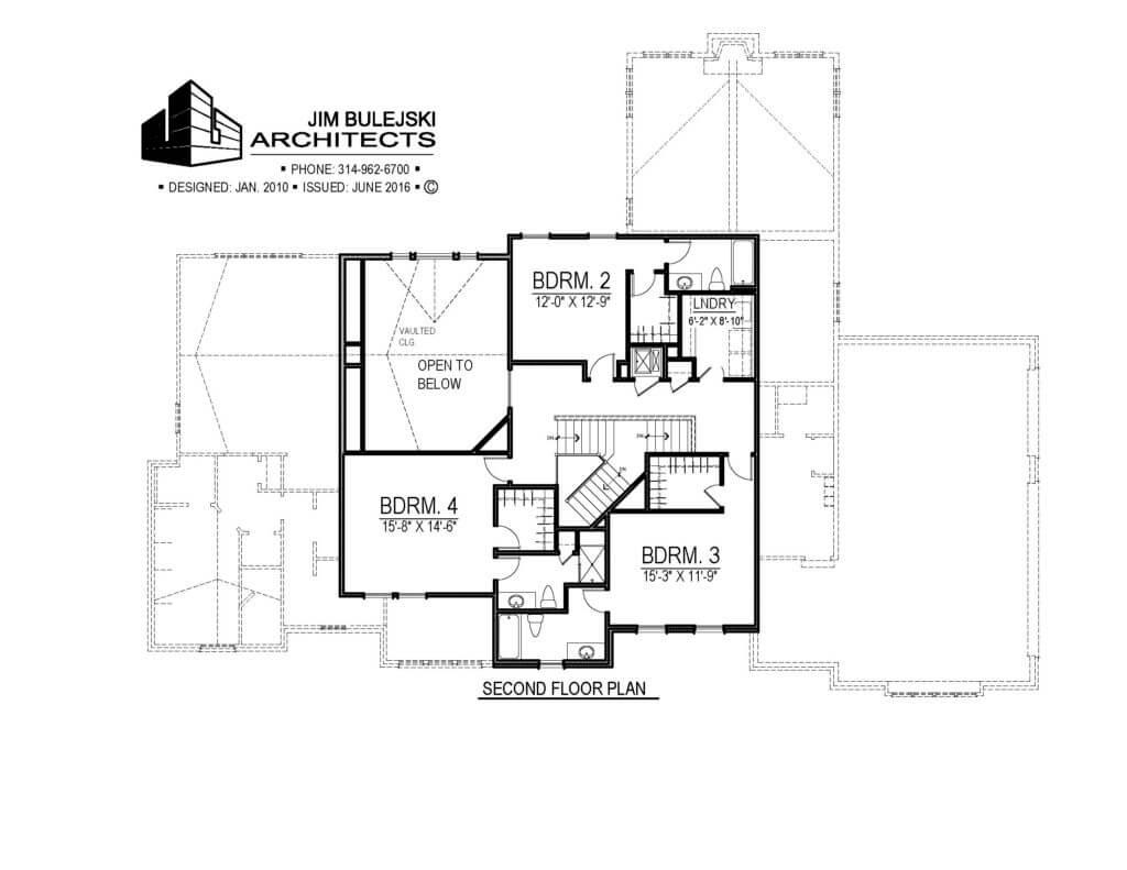 1 1/2 story home plan house plan floor plan