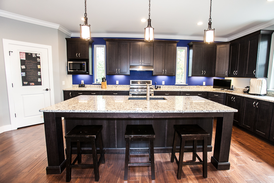 New Home Construction Ballwin MO Kitchen Island