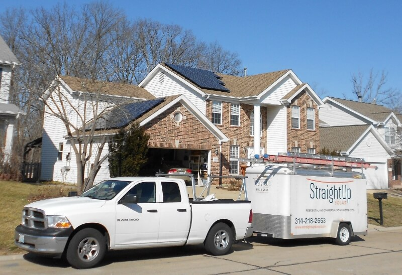 Photovoltaic Solar Energy StraightUpSolar St Louis Green Home Builder