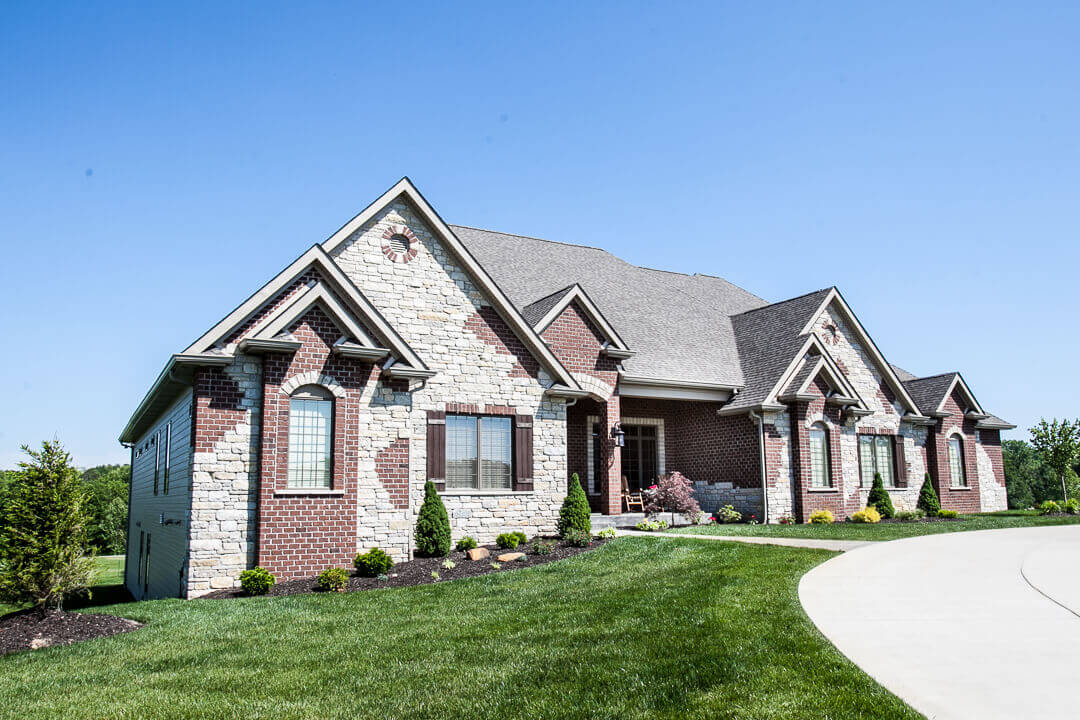 Hibbs Homes Custom Family Home Built in St. Louis County 57
