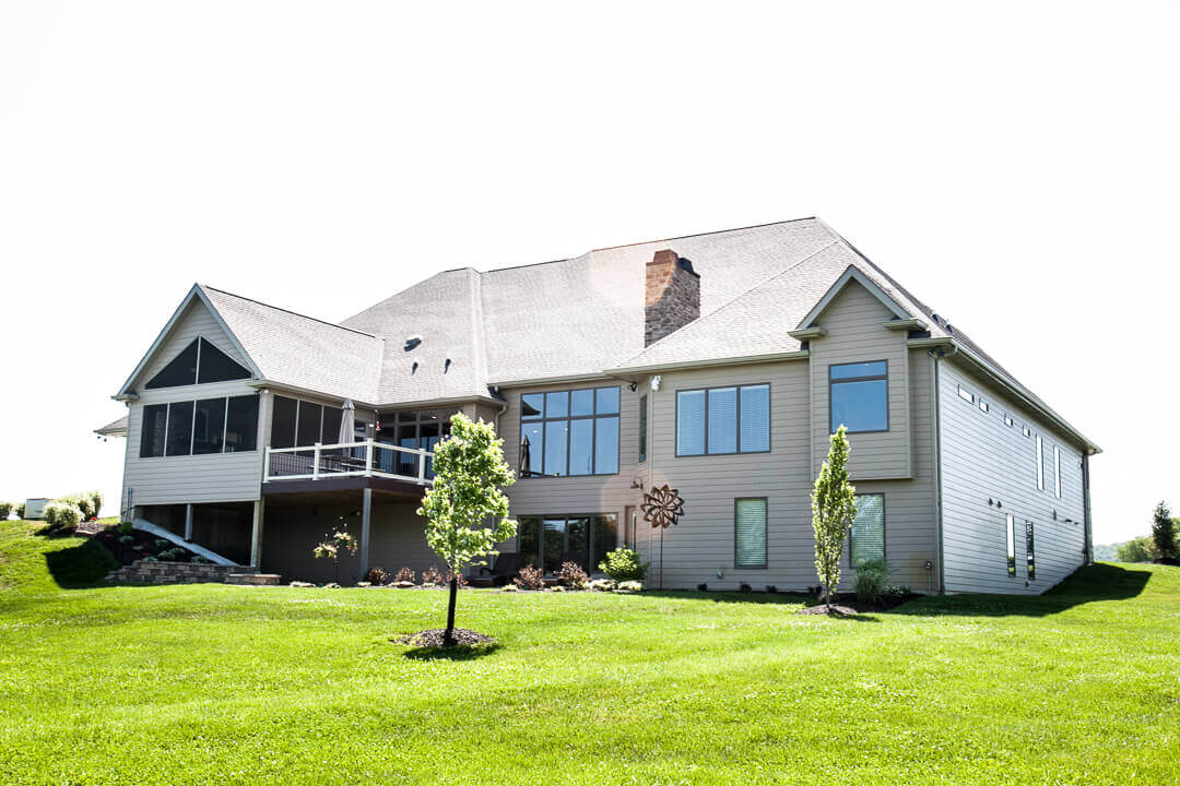 Hibbs Homes Custom Family Home Built in St. Louis County 10