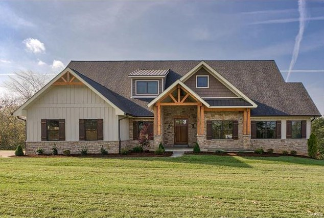 Ranch Floor Plan Eureka Home for Sale