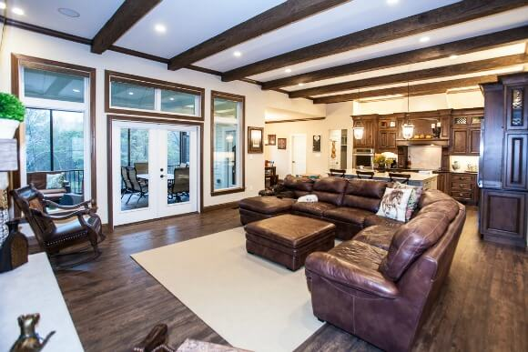 Great Room Custom Home Builder