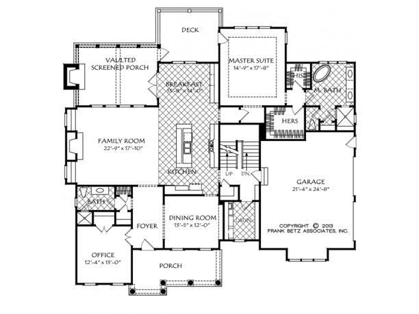 Gilbert 2 Story Floor Plan Level 1