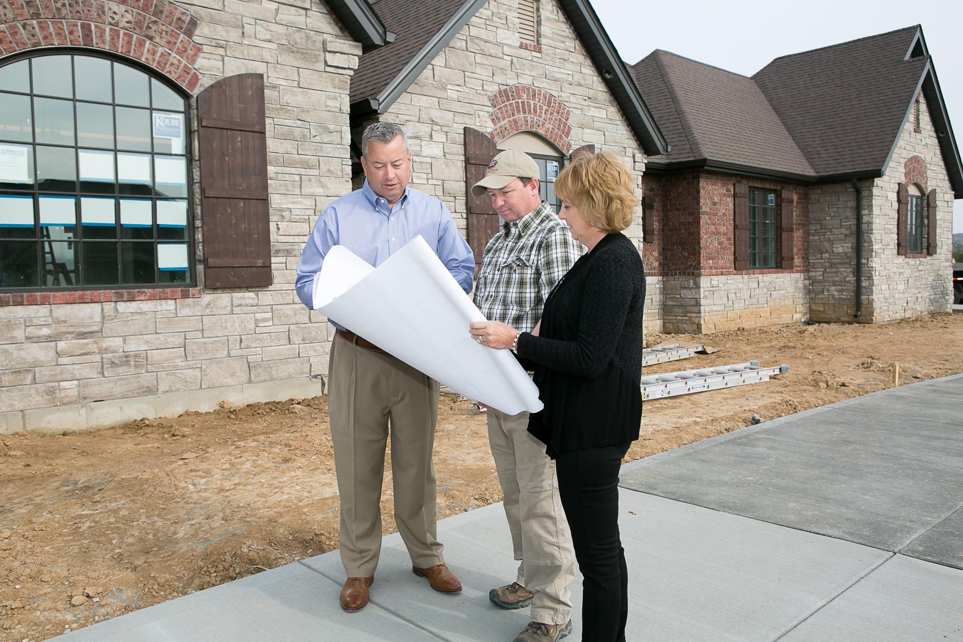 Custom Home Building Process St Louis Home Builders St Louis Custom Home Builders