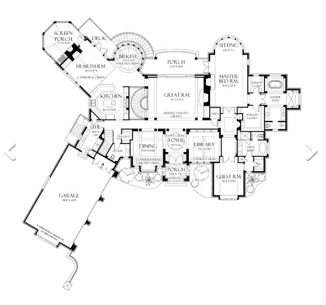 European Style Ranch Floor Plan Brighton Ranch Floor Plan St Louis Home Builder Luxury Home Builder