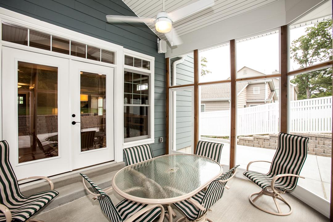Outdoor Spaces Custom Homes Hibbs Homes St Louis