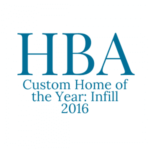 HBA Custom Home of the Year 2016 logo