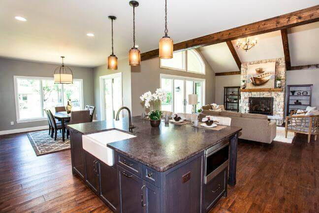 Riverbend-island-kitchen-chesterfield-home