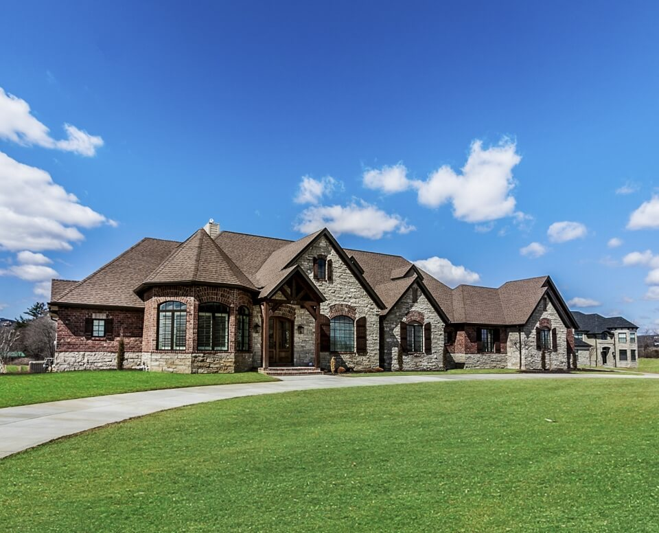 Custom Luxury Home Built by Hibbs Homes