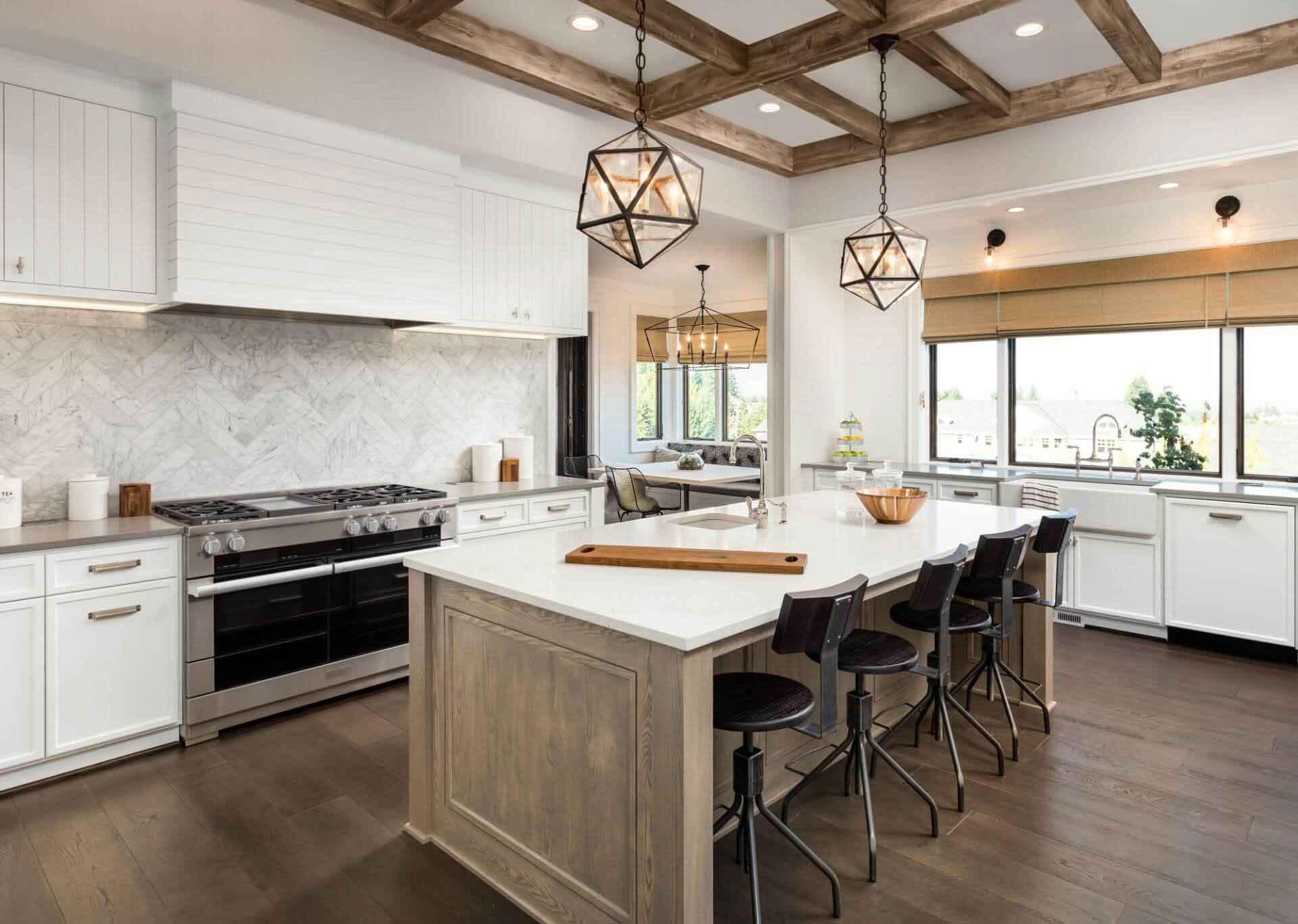 Luxury Custom Kitchen Built by Hibbs Homes in Salt Lake City
