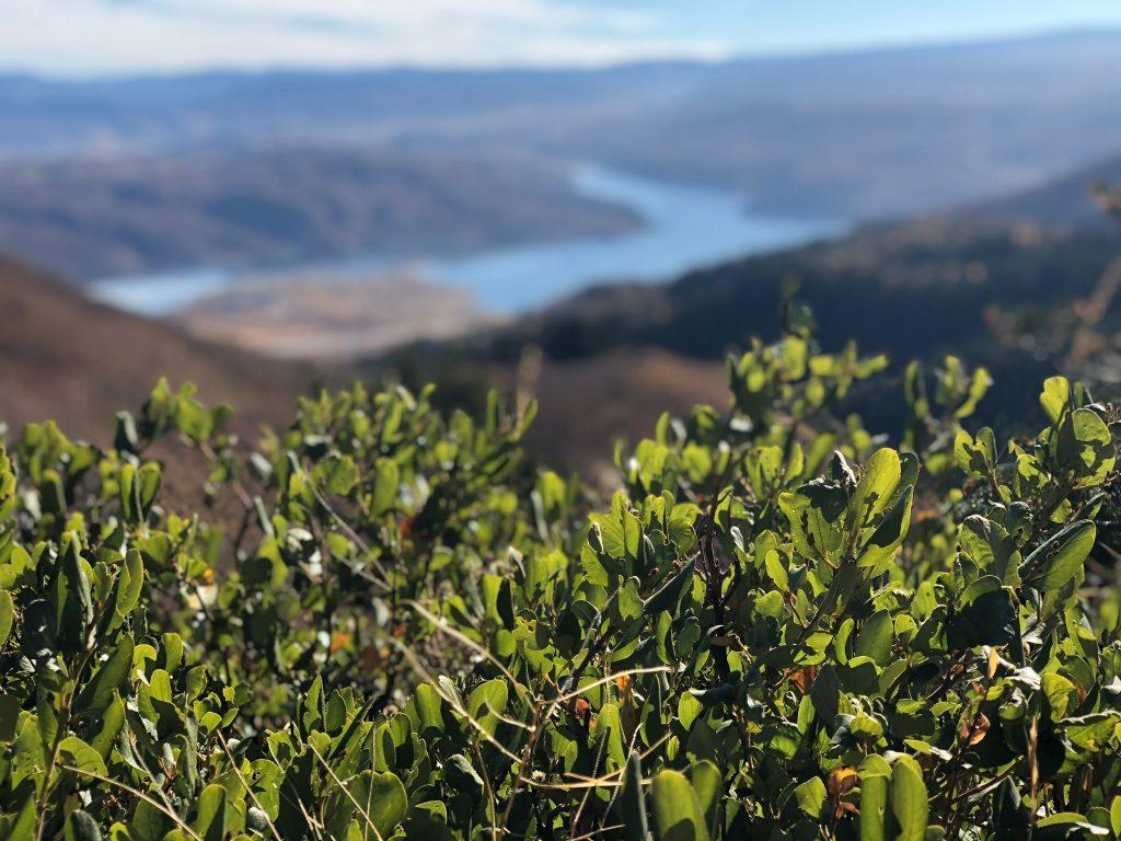 Overlooking Jordanelle Reservoir in Parl City, Utah