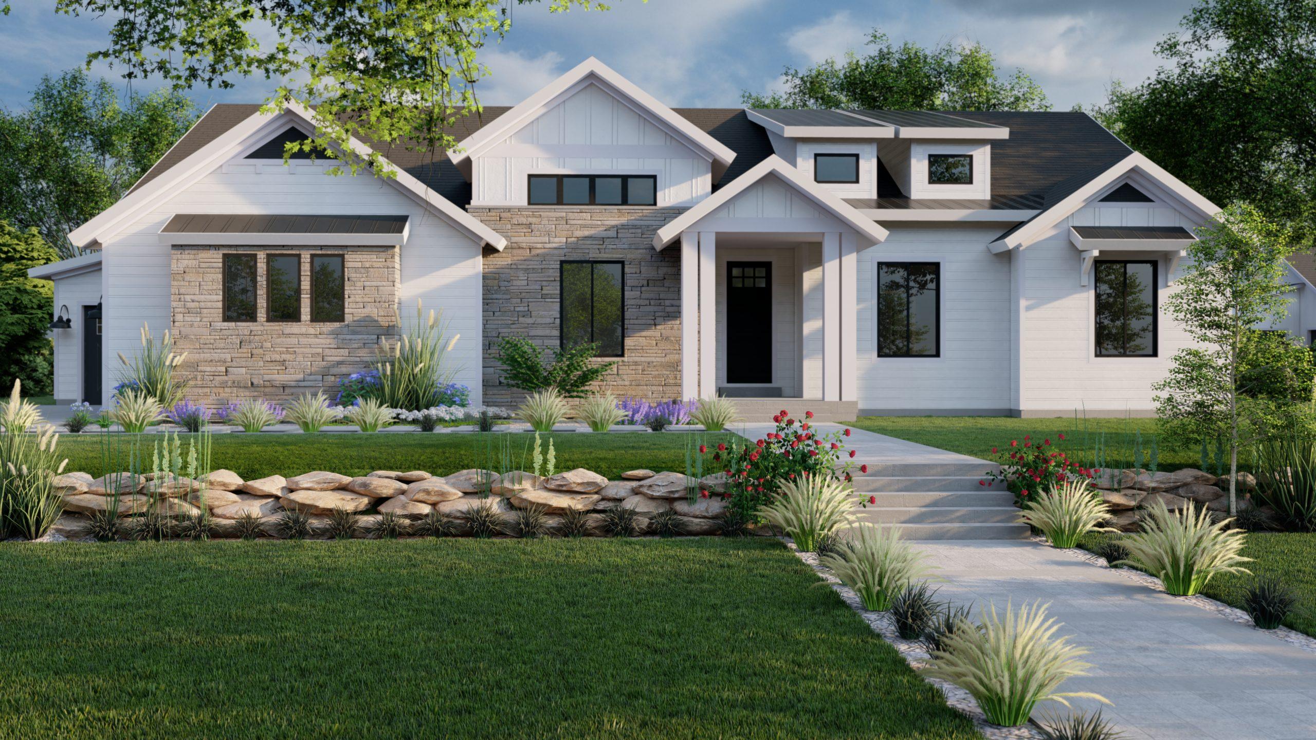 Beacon Hill Modern Farmhouse Floorplan for Utah