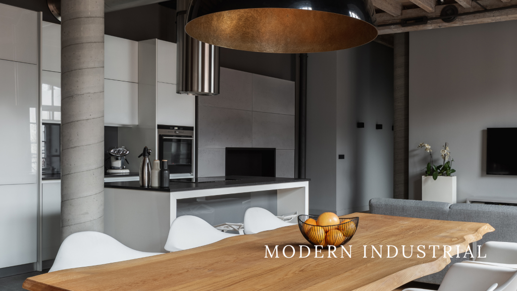 Modern Industrial Custom Home Design