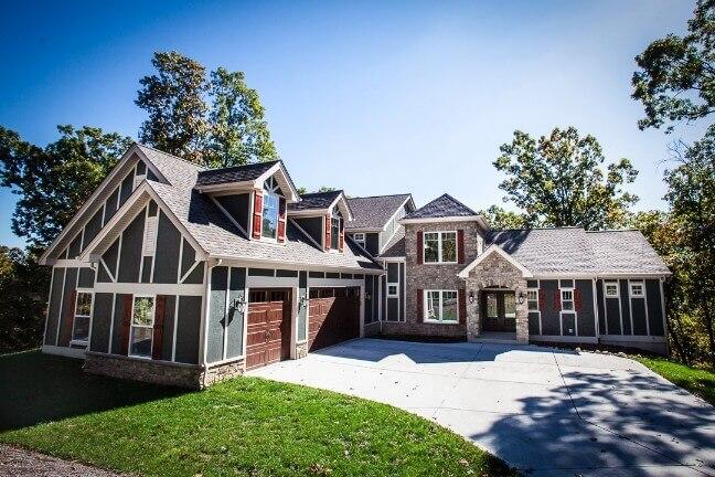 Custom Home Built in Ballwin, MO by Hibbs Homes